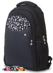 Pixie Crew kreativni školski ruksak, crni