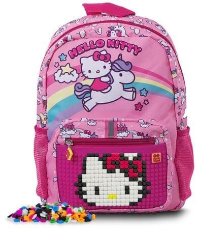 2d1ee0947298b Pixie Crew Plecak dziecięcy Hello Kitty z pikselami