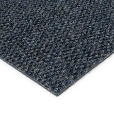 FLOMAT Modrá kobercová zátěžová vnitřní čistící zóna Fiona, FLOMAT - 1,1 cm