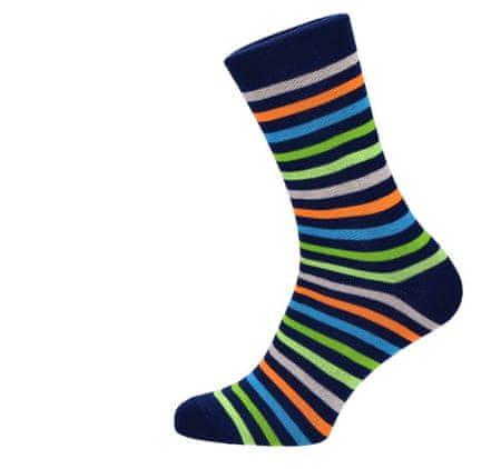 ROSENBULL Veselé ponožky- Pruhovaný Joe - 35 - 38