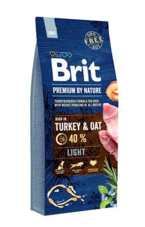 Brit hrana za pse Premium by Nature Light, 15 kg