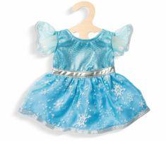 Heless sukienka Śnieżna Księżniczka dla lalek 38-45 cm
