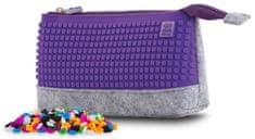 Pixie Crew Kreatívne puzdro do školy fialové