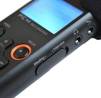 Digitální diktafon Eltrinex V12Pro kapacita SLP