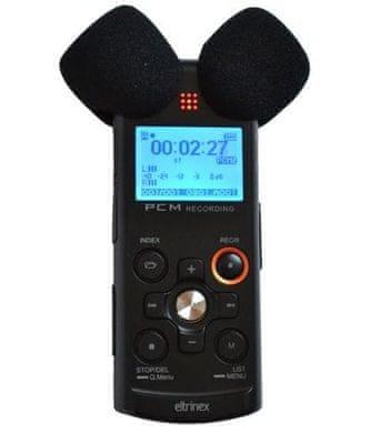 Digitální diktafon Eltrinex V12Pro line-in Stereo Linear PCM