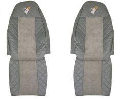 F-CORE Poťahy na sedadlá FX01, sivé