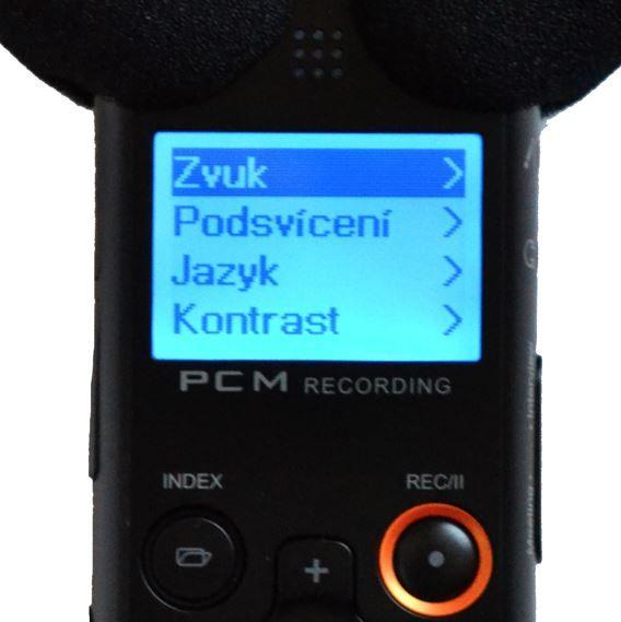 Diktafon Eltrinex V12Pro střih a editace ochrana před smazáním