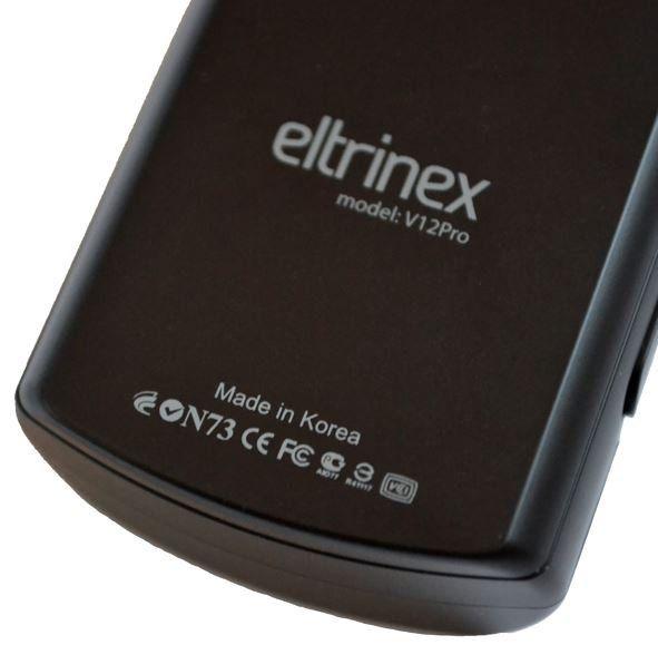 Diktafon Eltrinex V12Pro časovač LCF VOC FM rádio alarm audio popisky