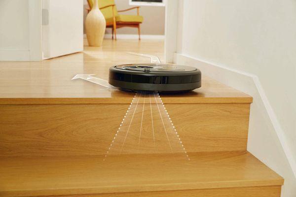 iRobot Roomba 606 schody