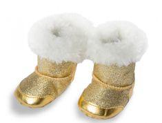 Heless zimowe buty dla lalki 38-45 cm, złote