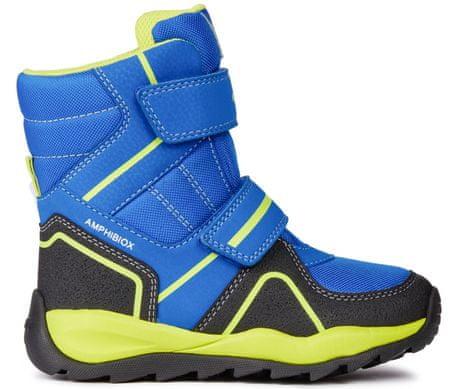 Geox chlapecké zimní boty Orizont 27 modrá