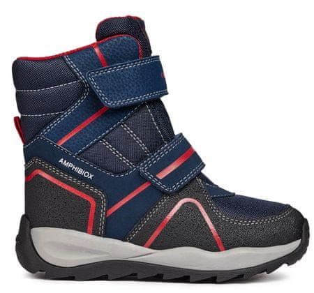 Geox buty zimowe za kostkę chłopięce Orizont 26 ciemny niebieski