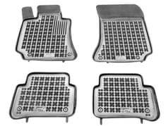 REZAW-PLAST Gumové koberce, súprava 4 ks (2x predné, 2x zadné), Mercedes-Benz W212 E-Class 2009-2016