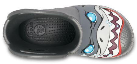 c5f47296 Crocs buty chłopięce FL Creature Rain Boot 24,5 szare | MALL.PL
