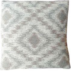 Home Polštář Brigitte Home béžovo-šedo-hnědý vzorovaný