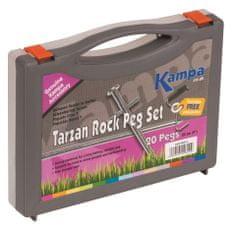 Kampa set klinova Tarzan Rock Peg Set, 20 komada