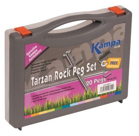 Kampa set klinov Tarzan Rock Peg Set, 20 kosov
