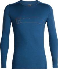 Icebreaker Koszulka męska z długim rękawem Mens 200 Oasis Deluxe Raglan LS Crewe