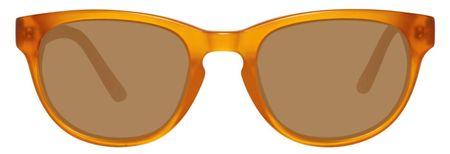 Gant unisex oranžové slnečné okuliare, pomarančové