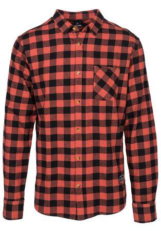 Rip Curl pánská košile Check It M červená