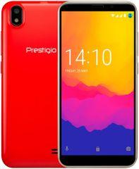 Prestigio Wize Q3, Dual SIM, červený
