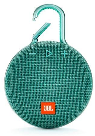 JBL Clip 3 turkizna - Odprta embalaža