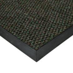 FLOMAT Zelená textilní zátěžová čistící vnitřní vstupní rohož Fiona, FLOMAT - 1,1 cm