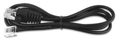 Virtuos kabel 10P10C-6P6C-24V1 pro zásuvky C420B, černý