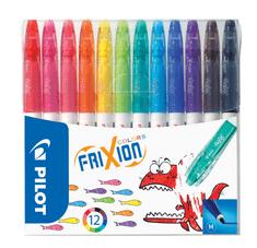 Pilot Fixy Frixion Colors, készlet, 12 szín, törölhető