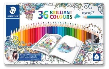 Staedtler Ergo Soft színes ceruzák, 36 szín, háromszög alakú