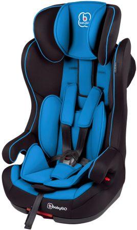 BabyGO fotelik samochodowy ISO, niebieski