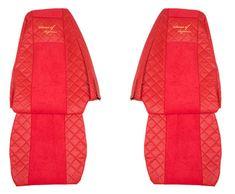 F-CORE Poťahy na sedadlá FX09, červené