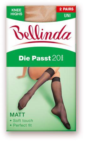 Bellinda DIE PASST 20 KH 2 PACK světle hnědá uni