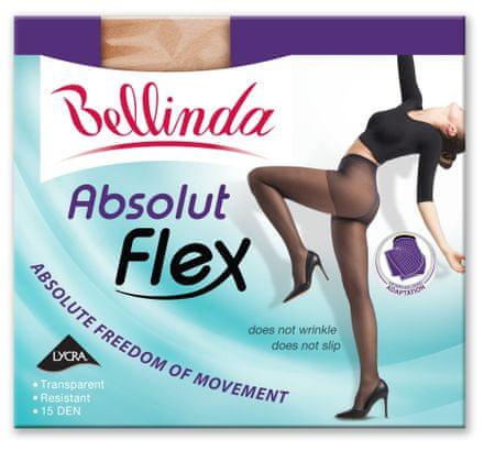Bellinda ABSOLUT FLEX 15 DEN světle hnědá L