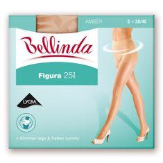 Bellinda pančuchové nohavice BE297151 FIGURA 25 DEN