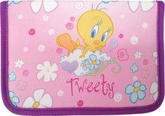 Looney Tunes pernica Tweety, 2 preklopa, prazna
