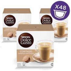 NESCAFÉ Dolce Gusto CORTADO Kávékapszula, 3x16 db