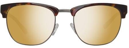 Gant okulary przeciwsłoneczne męskie brązowe