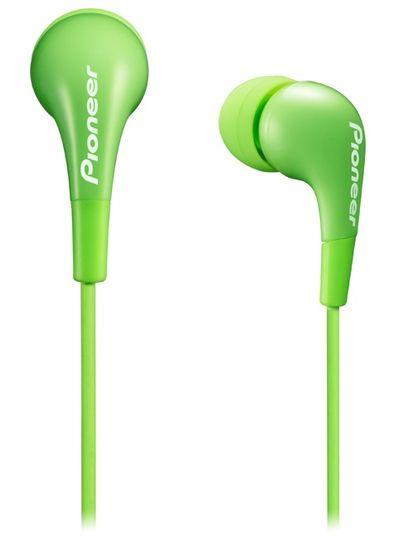 Pioneer SE-CL502 sluchátka špunty, zelená