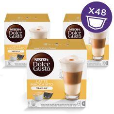 NESCAFÉ LATTÉ VANILLA Kávékapszula, 3x16 db