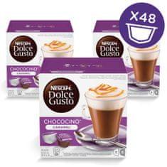 NESCAFÉ Choco Caramel Forró csoki kapszula, 3x16 db