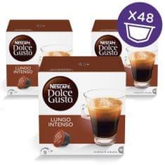 NESCAFÉ DOLCE GUSTO LUNGO INTENSO Kávékapszula, 3x16 db