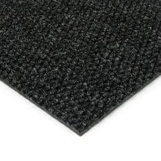 FLOMA Černá kobercová zátěžová vnitřní čistící zóna Fiona, FLOMA - 1,1 cm
