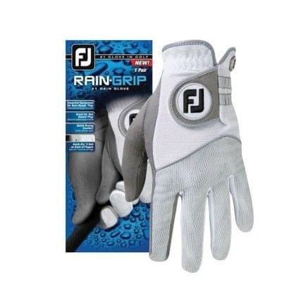 FootJoy Raingrip dámské rukavice Bílá Levá (pro praváky) S