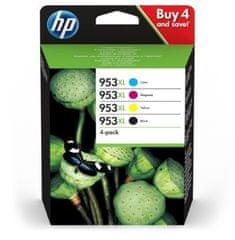 HP komplet tinti 953XL, crna, cyan, magenta, žuta