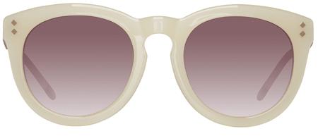 Gant damskie okulary przeciwsłoneczne kremowe