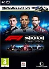 Codemasters igra F1 2018 Headline Edition PC