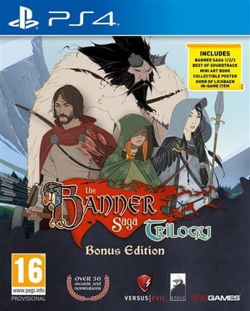 505 Gamestreet Banner Saga Trilogy (PS4)