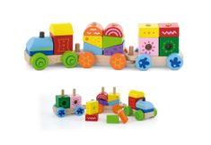 Viga Fából készült vonat