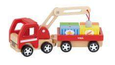 Viga Dřevěný autojeřáb